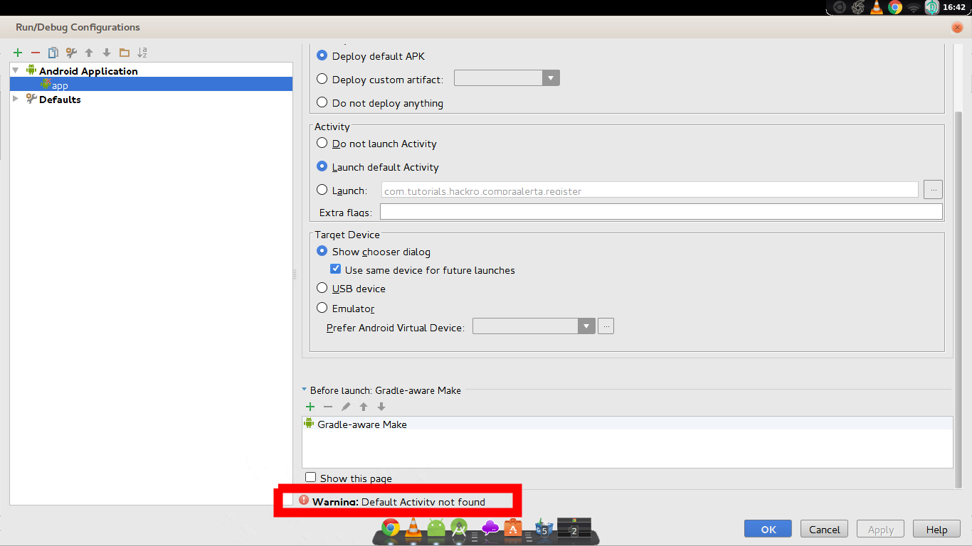 android studio logcat show only selected application