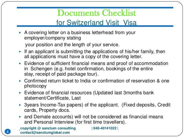 swiss visa application form india