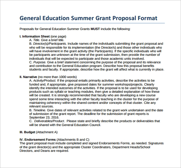grant application proposal template mcmaster