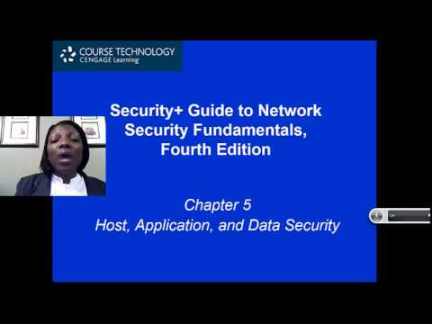 what is application data and host security