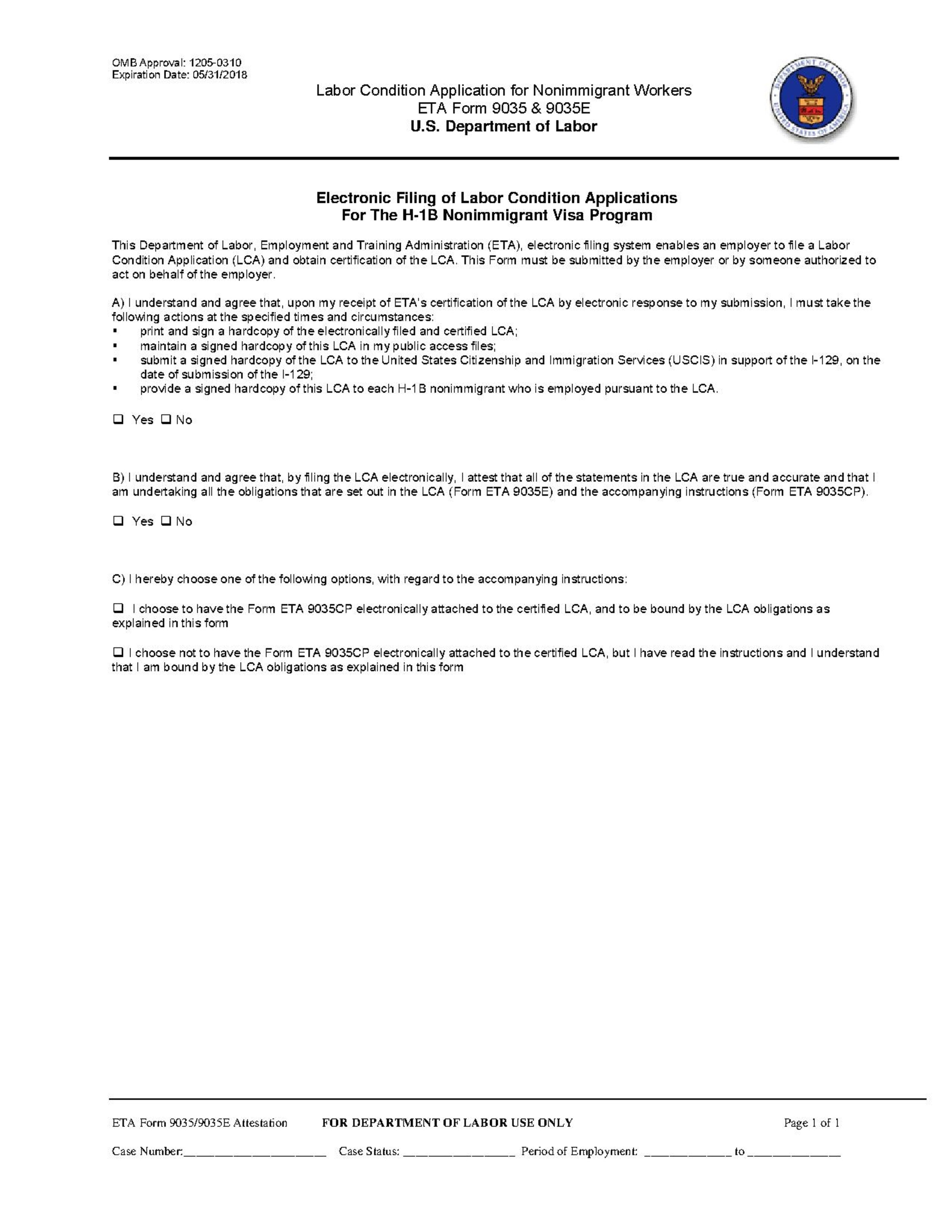 condition for the application of lexum