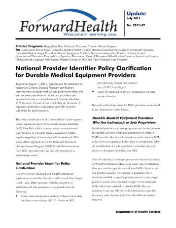 application for npi national provider identification number