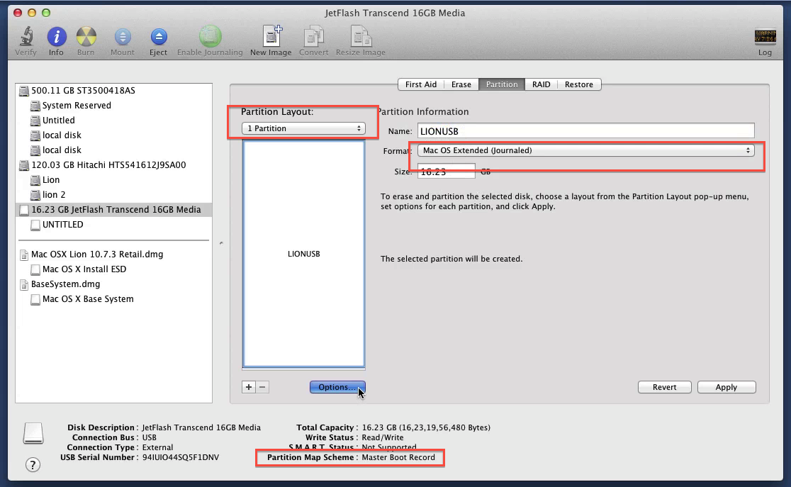 osx show applications in finder