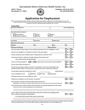 when job applications ask for travel