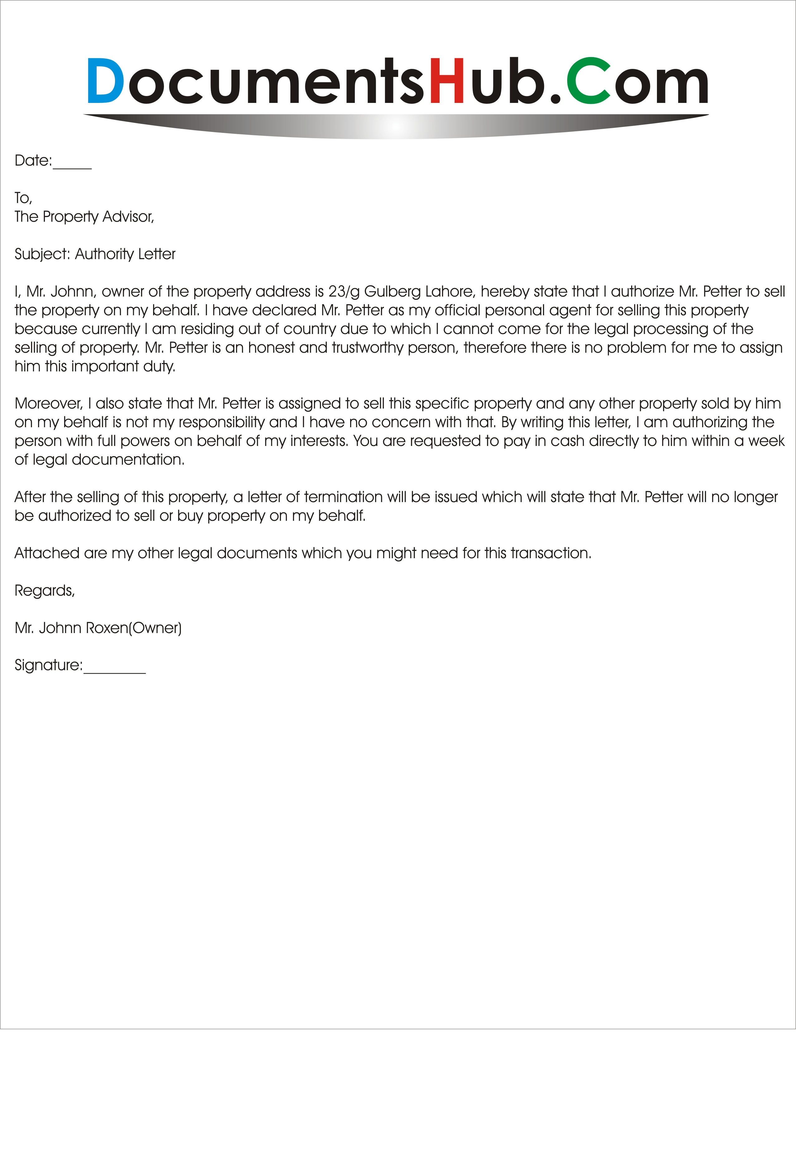 please refer to the attached application letter for your