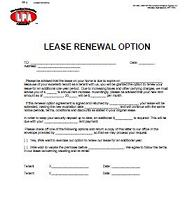notice of application commercial tenancy act