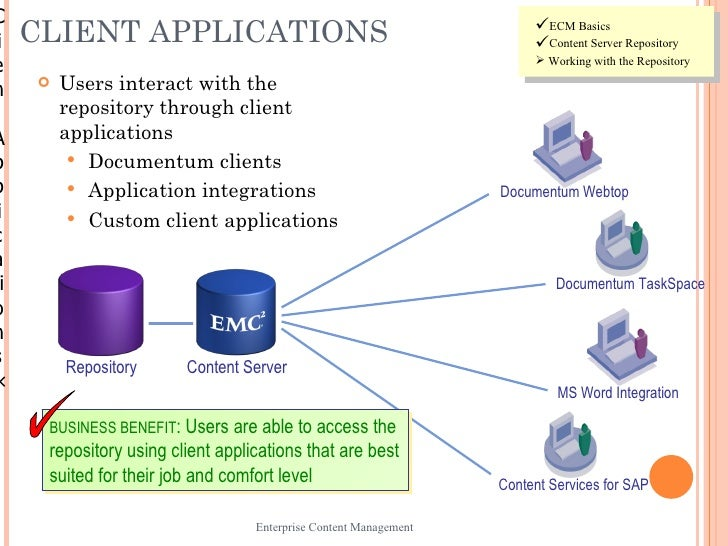 what are the benefits and application of content management