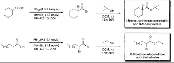 synthetic application of michael reaction