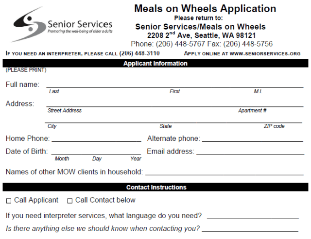 meals on wheels baltimore application