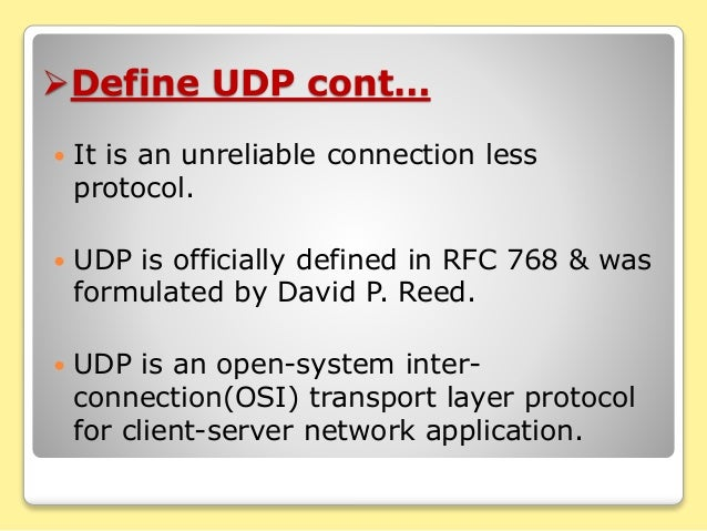 tcp for real-time application