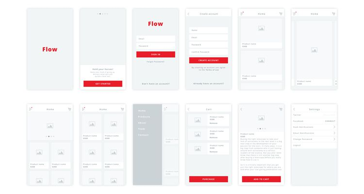 free wireframe tools for web applications