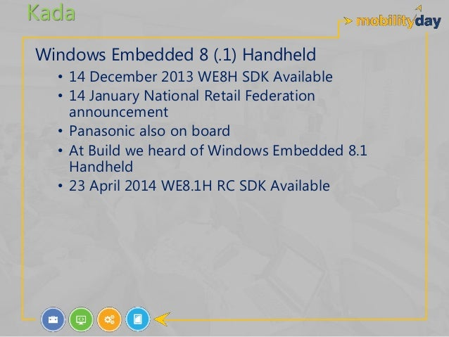 an application thinks windows is embedded