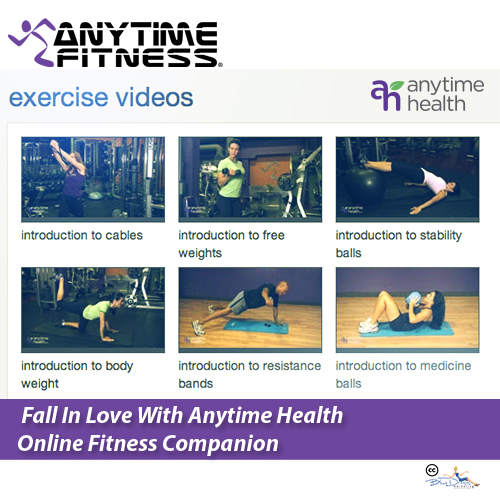 anytime fitness personal trainer application