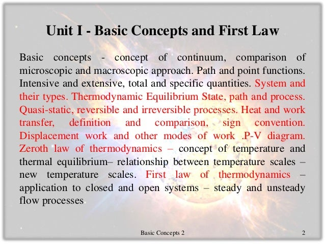application of first law of thermodynamics in mechanical engineering