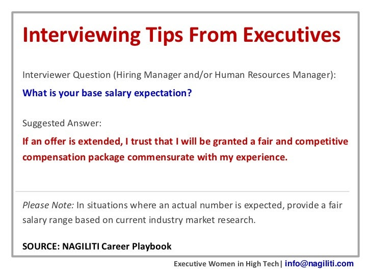 what to put for salary expectation on job application