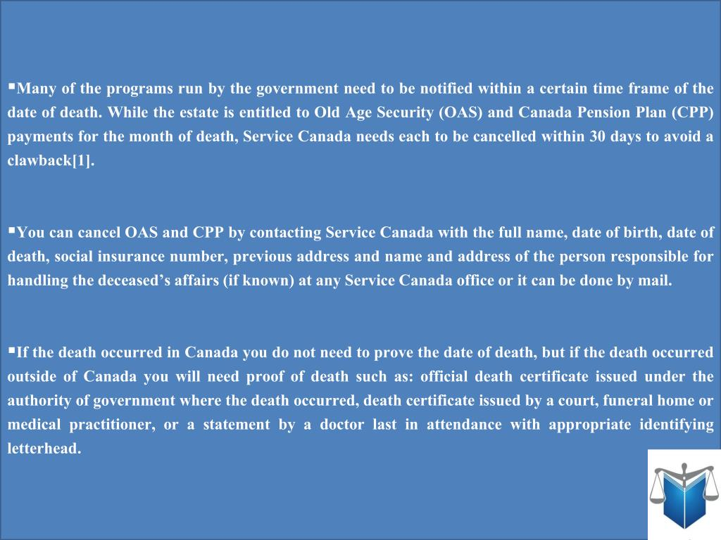 address for canada old age pension application