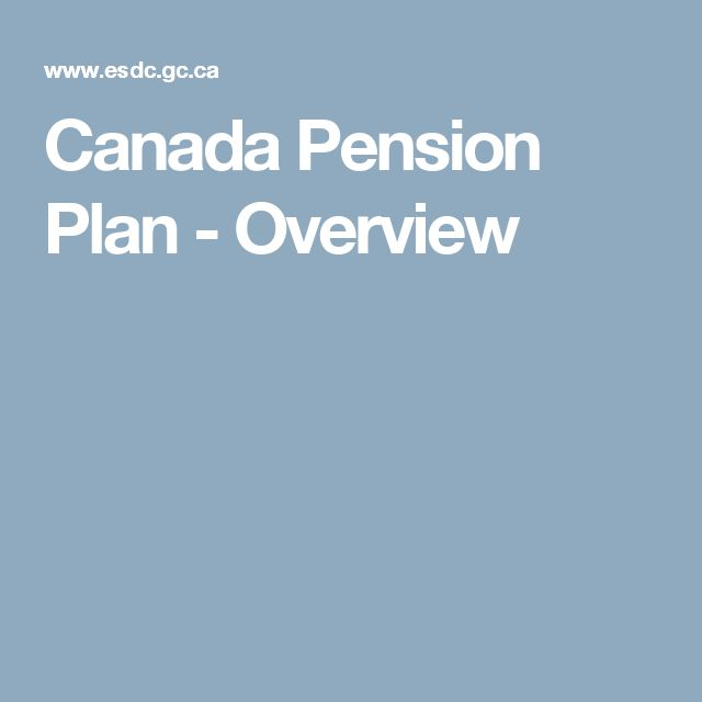 early pension application service canada
