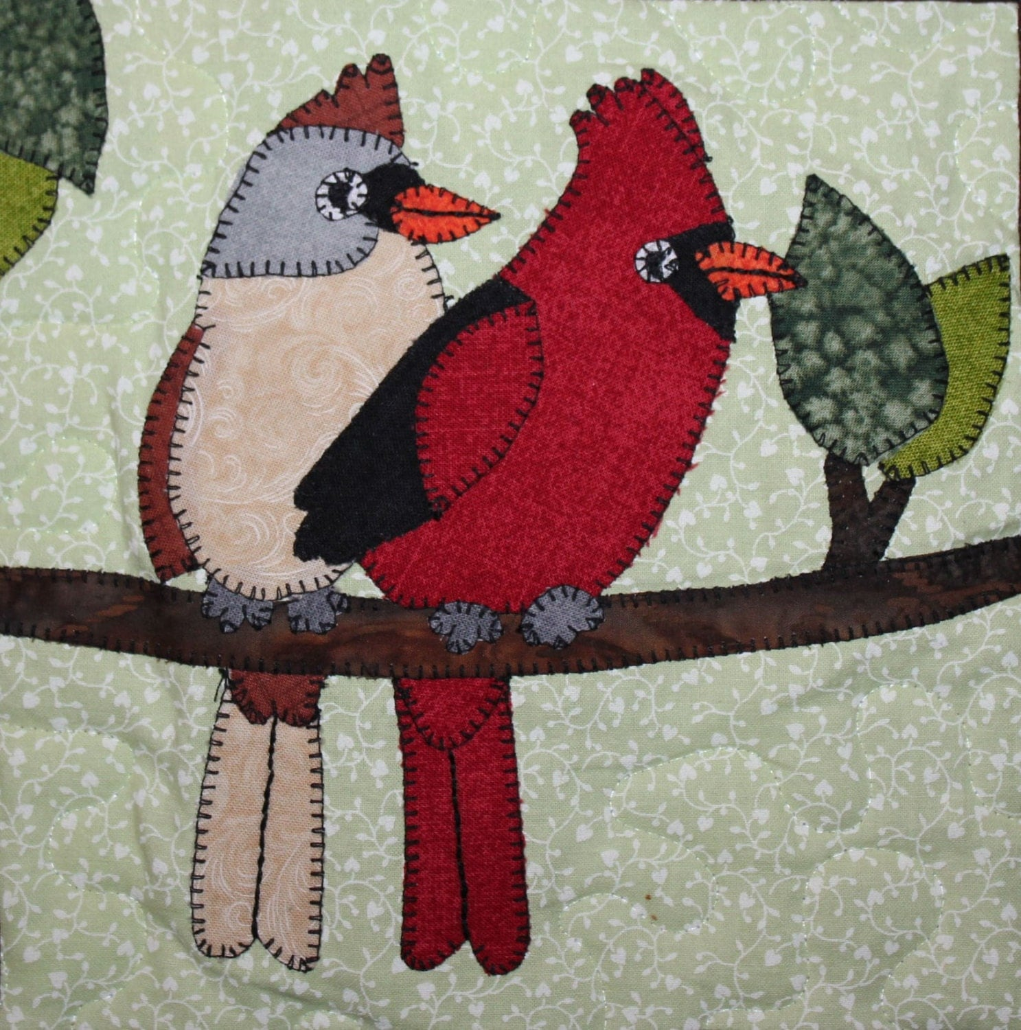 hand applique quilts whimsical designs