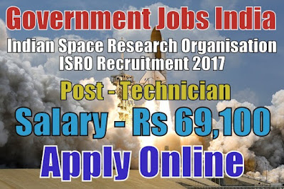isro application form 2017 last date