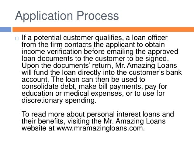 online loan application & verification system