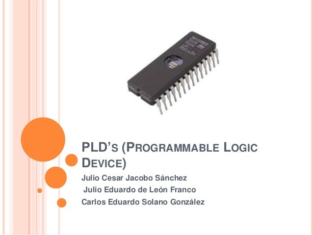 sequential logic applications of plds